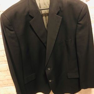 Men's size 50R sports coat Navy Blue